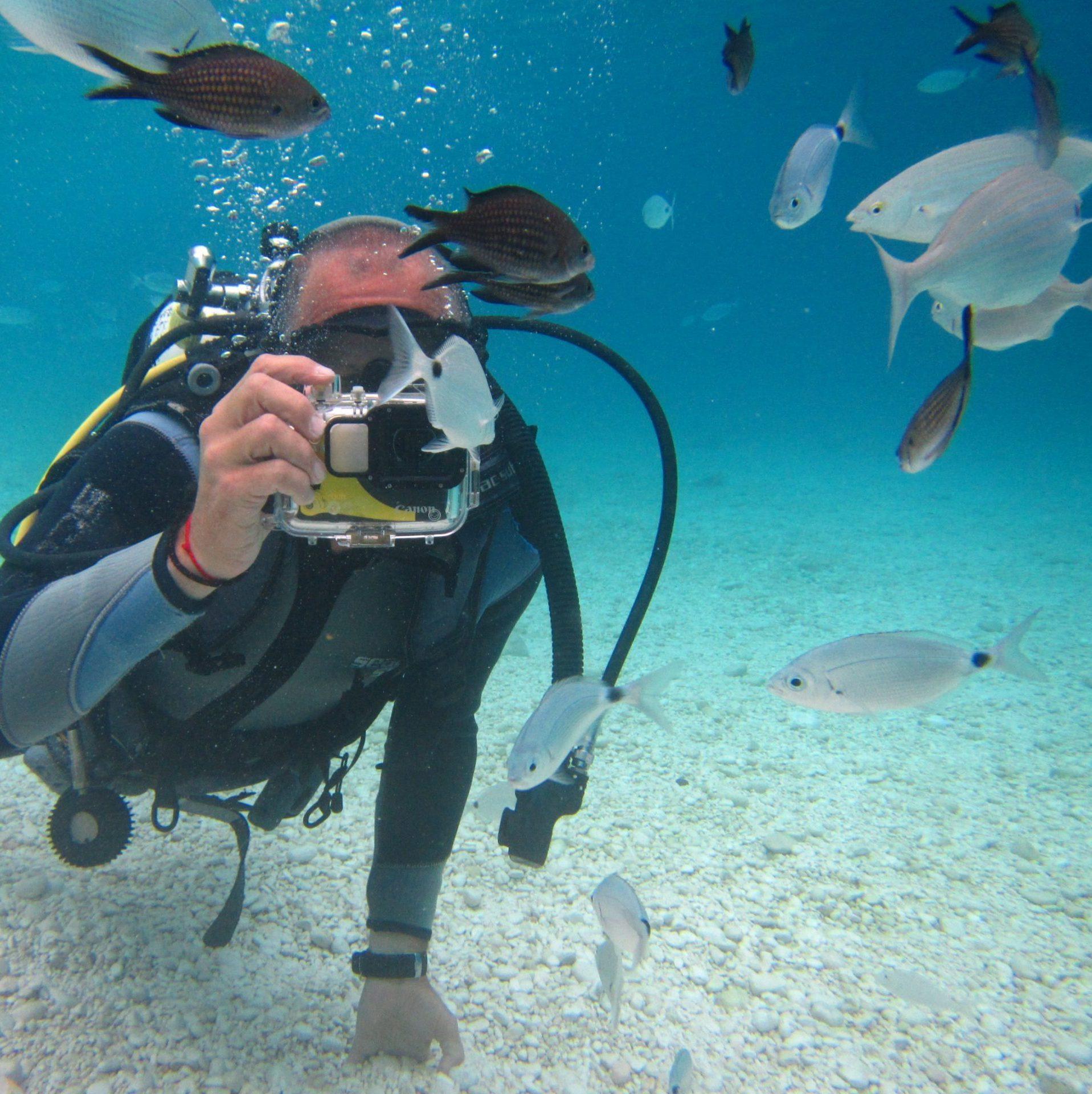 Prove subacquee a Cala Mariolu