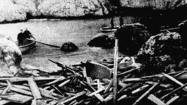 Rottami nave levante foto del 1963